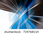 abstract motion blur visual... | Shutterstock . vector #724768114
