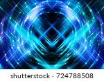 abstract beautiful bright... | Shutterstock . vector #724788508