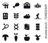 16 vector icon set   factory...   Shutterstock .eps vector #724820509