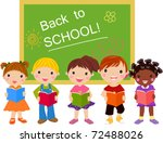 back to school | Shutterstock .eps vector #72488026