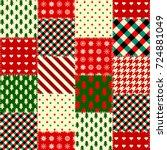 Seamless Christmas Background...