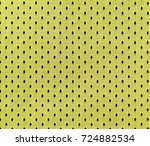 close up of yellow polyester... | Shutterstock . vector #724882534