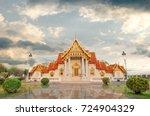 wat benchamabophit dusit... | Shutterstock . vector #724904329