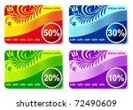 discount labels | Shutterstock .eps vector #72490609