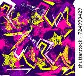 abstract seamless grunge...   Shutterstock .eps vector #724993429