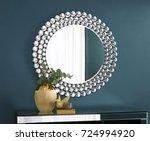 mirror interior | Shutterstock . vector #724994920