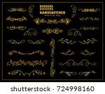 vector premium elements for... | Shutterstock .eps vector #724998160