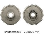 spare parts on a white... | Shutterstock . vector #725029744