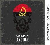 skull color of the flag | Shutterstock .eps vector #725041393