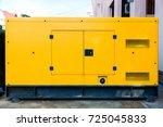 mobile diesel generator for...   Shutterstock . vector #725045833