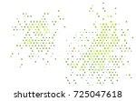 light green vector modern... | Shutterstock .eps vector #725047618