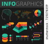 infographics design elements... | Shutterstock .eps vector #725078359