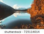Soft Autumn Landscape View Of...