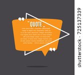 inspirational quote template   Shutterstock .eps vector #725137339