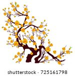 Vector Cherry Blossom For...