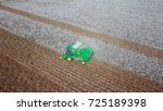aerial view of a large green... | Shutterstock . vector #725189398