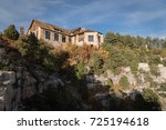 the lodge on the north rim of... | Shutterstock . vector #725194618