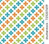 abstract geometric seamless... | Shutterstock . vector #725207659