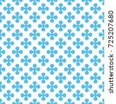 geometric seamless pattern  | Shutterstock . vector #725207680