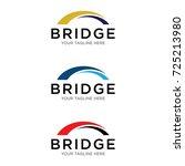 bridge logo design | Shutterstock .eps vector #725213980