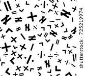 mathematics seamless pattern ... | Shutterstock .eps vector #725219974