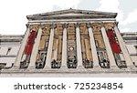 vector of the national gallery... | Shutterstock .eps vector #725234854