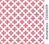 abstract geometric seamless... | Shutterstock . vector #725256559