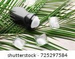 deodorant for men with ice... | Shutterstock . vector #725297584