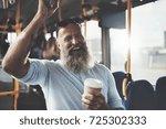 Mature Man With A Long Beard...