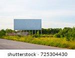 Blank Billboard On The Sideway...