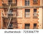Vintage Brick Building With...