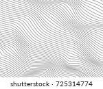 blend lines.gray stripes.waved... | Shutterstock . vector #725314774
