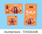 columbus day seasonal holiday...   Shutterstock .eps vector #725326108