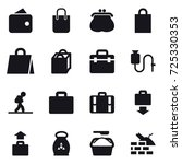 16 vector icon set   wallet ... | Shutterstock .eps vector #725330353
