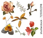 illustration of beautiful... | Shutterstock . vector #725352298
