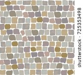 Stone Vector Texture  Cartoon...