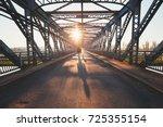 Morning Walk Across The River....