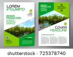 business brochure. flyer design.... | Shutterstock .eps vector #725378740