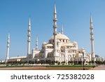 sheikh zayed mosque in fujairah ...   Shutterstock . vector #725382028