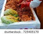 kimchi in seoul korea   Shutterstock . vector #725405170