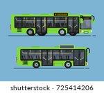 cool modern flat design public... | Shutterstock .eps vector #725414206