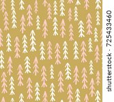 holiday seamless pattern with... | Shutterstock .eps vector #725433460