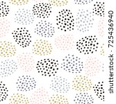seamless vector pattern with... | Shutterstock .eps vector #725436940