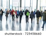intentional blurred image of... | Shutterstock . vector #725458660