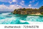suluban surf beach. bali ... | Shutterstock . vector #725465278
