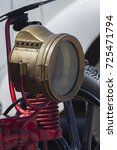 Kerosene Lamp  Old Brass Car...