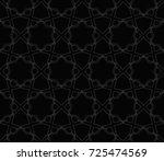 decorative wallpaper design in... | Shutterstock . vector #725474569