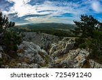 mountain scape | Shutterstock . vector #725491240