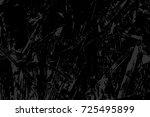 monochrome abstract vector... | Shutterstock .eps vector #725495899