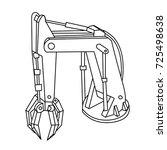 cartoon technical iron...   Shutterstock .eps vector #725498638